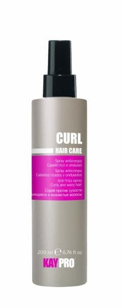 HAIR CARE SPRAY CURL ANTI-FRIZZ 200ML.
