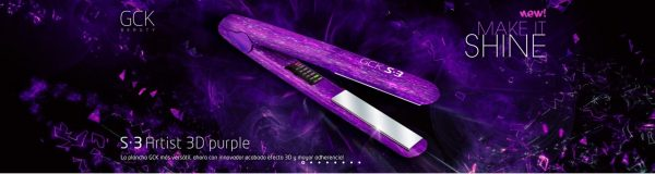 GCK PLANCHA S3 PURPLE 3D