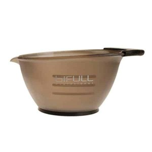 BOWL ANTIDESLIZANTE NEGRO 360ML BIFULL