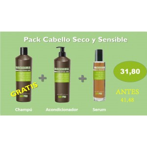 PACK SECO Y SENSIBLE KAYPRO